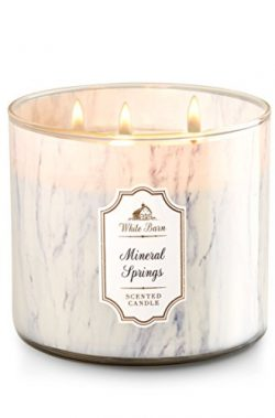 White Barn 3 Wick Candle Mineral Springs