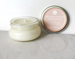 Spice Market Scented Soy Candle – Fall Holiday Candle – Handmade, 3.3oz