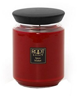 Root Legacy Queen Bee Scented Jar Candle, Large, Spice Market
