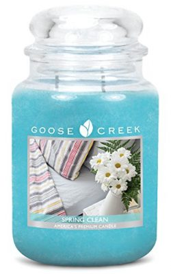 Goose Creek Scented Candles Spring Clean Large Jar Candle Great Fragrance 24 oz