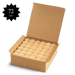 Votive Candles Bulk – Wedding, Dinner, Holiday, Home Decoration, Unscented 10 Hour Burn Se ...