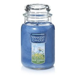 Yankee Candle Large Jar Candle, Blue Summer Sky