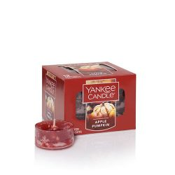 Yankee Candle Apple Pumpkin Tea Light Candles, Food & Spice Scent