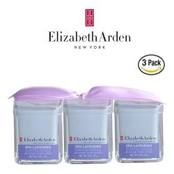 Elizabeth Arden Lavender Votive 2-Ounce Candle, Pack of 3