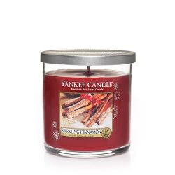 Yankee Candle Sparkling Cinnamon Small Single Wick Tumbler Candle, Festive Scent