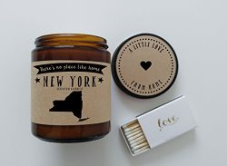 New York Scented Candle Missing Home Homesick Gift Moving Gift New Home Gift No Place Like Home  ...