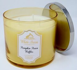 White Barn Pumpkin Pecan Waffles 3 Wick 14.5 Ounce Scented Candle 2017 Limited Edition