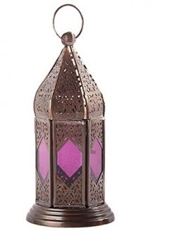StarZebra Mothers Day GIFT – Moroccan Lantern 9″ Inch – Handmade Hanging Tea L ...