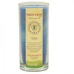 Aloha Bay Chakra Candle Jar, Positive Energy