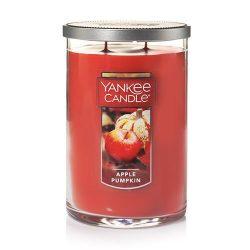 Yankee Candle Large 2-Wick Tumbler Candle, Apple Pumpkin