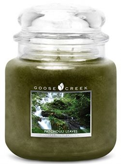 Goose Creek Scented Patchouli Leaves Jar Candle Great Fragrance 16 oz