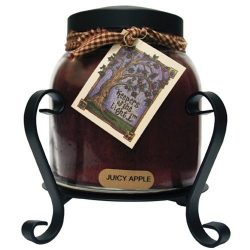 A Cheerful Giver Candle Jar Holder, Black