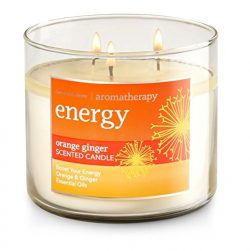 Bath and Body Works 3-wick Limited Edition Candle AROMATHERAPY COLLECTION (Energy – Orange ...