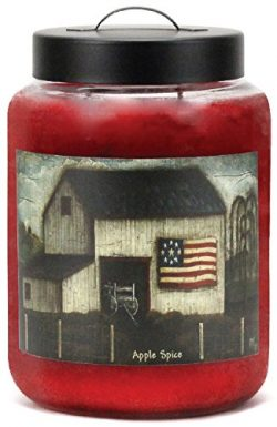 Goose Creek Scented Candles Folk Art Apple Spice Large Jar Candle Great Fragrance 24 oz