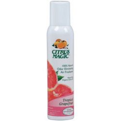 Citrus Magic Natural Odor Eliminating Air Freshener Spray, Pink Grapefruit, 3.5-Ounce