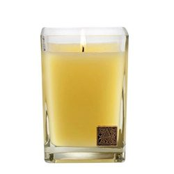 Sorbet Medium Glass Cube Candle, 12 oz by Aromatique