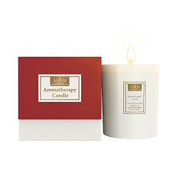 Anjou Aromatherapy Scented Candle, 7 oz Glass Jar Home Fragrance Champagne, Natural Soy Wax and  ...