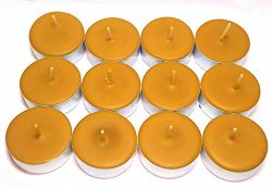 12 Pack of Pumpkin Spice Scented Soy Tealight Candles