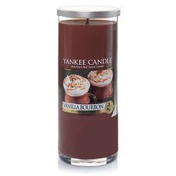 Yankee Candle Vanilla Bourbon Large Perfect Pillar Candles