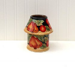 Casa Cortes Barcelona Collection Hand-Painted (#60 CANDLE JAR HOLDER)