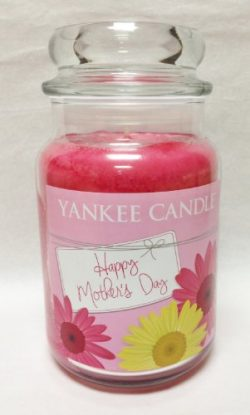 Happy Mothers Day 22oz Large Jar Yankee Candle