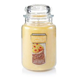 Yankee Candle Warm Pineapple Upside Down Cake Large Jar Candle