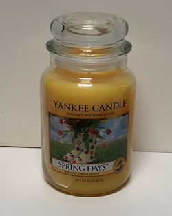 Yankee Candle Company Large Jar Candle Spring Days 22 ounce