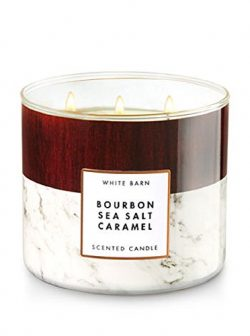 Bath & Body Works 3-Wick Candle in Bourbon Sea Salt Caramel