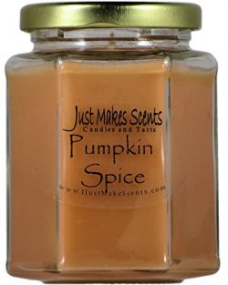 Pumpkin Spice Scented Blended Soy Candle by Just Makes Scents