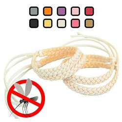 Original Kinven Mosquito Insect Repellent Bracelet Waterproof Natural DEET FREE Insect Repellent ...