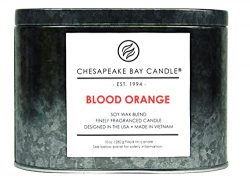 Chesapeake Bay Candle Heritage Collection Double Wick Tin Scented Candle, Blood Orange