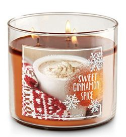 Bath and Body Works 3-wick Candle 2016 Edition Sweet Cinnamon Spice