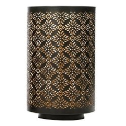 Hosley's Diamond Cut Candle Holder 8″ Height – Ideal Gift, for Wedding, Spa, L ...