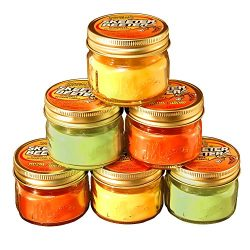 Citronella Scented Candles in 3oz Glass Mason Jars (6 Count)