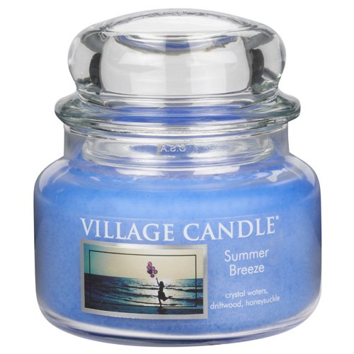 Village Candle Summer Breeze 11 oz Glass Jar Scented Candle, Small