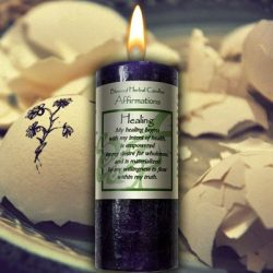 Affirmations – Healing Candle