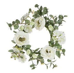 8″ Mini Rose WreathCandlering Candle Ring