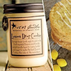 1803 Candles – 14 oz. Jar Soy Candles – Spring Scents (Lemon Drop Cookies)