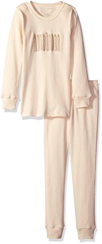 L'bKIDS by L'ovedbaby Boys' Little Boys' Organic Holiday Pajama Set, Shi ...