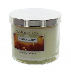 Slatkin & Co. Winter Glow Scented Candle, 4oz.