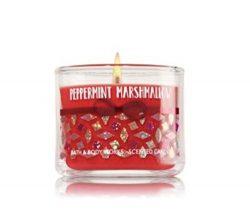 Bath & Body Works Mini Candle Peppermint Marshmallow 2016