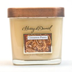 Harry and David 16-Ounce Jar Candle, Large, Cinnamon Pastry