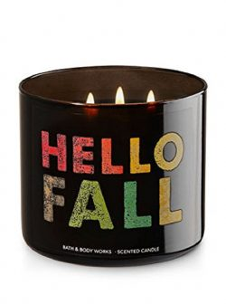 Bath & Body Works Hello Fall Scented 3-Wick Candle