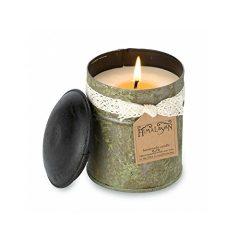Himalayan Candles 10-Ounce Spice Tin Soy Scented Candle, Campfire, Green