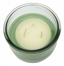 Candle Lite 3 Wick Candle Mult-Flavor Eliminates Odor with Essential Oils (1, Eucalyptus Leaf)