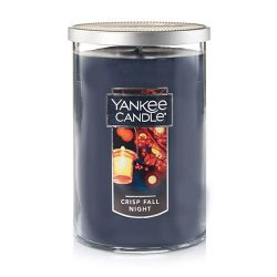 Yankee Candle Large 2-Wick Tumbler Candle, Crisp Fall Night