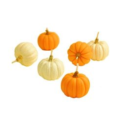 Tinksky Set of Pumpkin Shaped Candles Halloween Party Decoration Thanksgiving Day Gift children& ...