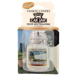 Yankee Candle Car Jar Ultimate, Clean Cotton