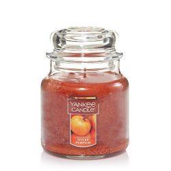 Yankee Candle Medium Jar Candle, Spiced Pumpkin