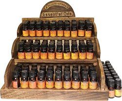 Essential 100% Pure Oils – Economy Pack of Favourites – Cinnamon, Clary Sage, Pepper ...